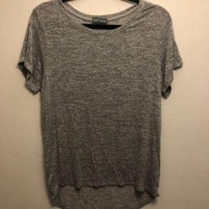 Women`s grey stretchy shirt